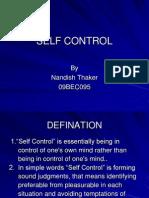 SELF CONTROL.ppt