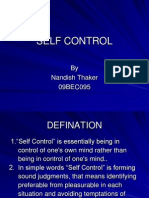 SELF CONTROL.ppt