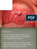 Pharyngitis Tonsilitis