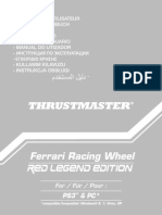 Ferrari RWheel Red Legend Manual