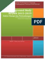 Draf Laporan Background Study FGD