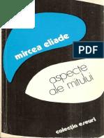 Eliade Mircea Aspecte Ale Mitului 1978