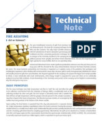 Fire Assay Technical aure