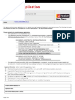 LJHooker 2014 Tenancy Application 2014