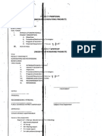 Format in Project Proposal for Igp Tle and Epp