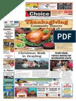 Weekly Choice - November 20, 2014