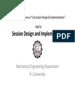 B_Session Design_Orientatn Lect on Curriculum Design & Implmntn