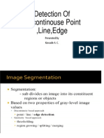 Detection of Discontinouse Point ,Line,Edge