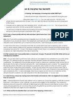 FAQ on Housing Loan & Income Tax Benefit