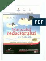 Manualul Redactorului de Carte - Catalin Strat - Extras