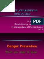 Dengue by Dr Awais