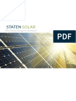 Staten Solar Brief Profile
