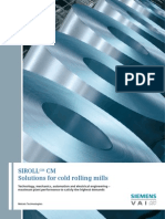 SIROLL CM Solutions for Cold Rolling Mills En