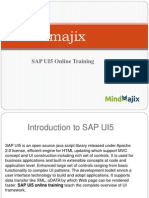 SAP UI5 Online Training