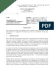 Resolucion Sobre Jugadores Senadores y Cangrejeros (12 Dic 2014)