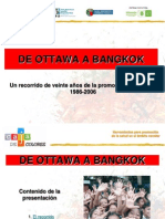 De Ottawa a Bangkok 20 Aos de Promocin de La Salud