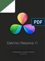 Davinci Resolve Windows Configuration Guide Oct 2013