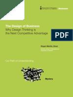Roger martin design of business pdf the
