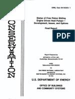 Status of free piston Stirling engine and heat pump.pdf