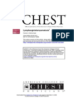 Lymphangioleiomyomatosis a Clinical Update Chest