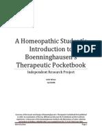Intro Boenninghausen's Therapeutic Pocketbook