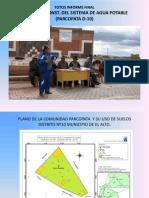 Informe Final Fotografico Parcopata