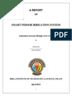 A Smart Indoor Irrigation System