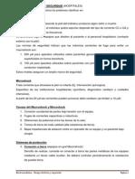 Resumen u7 - Riesgo Electrico y Seguridad
