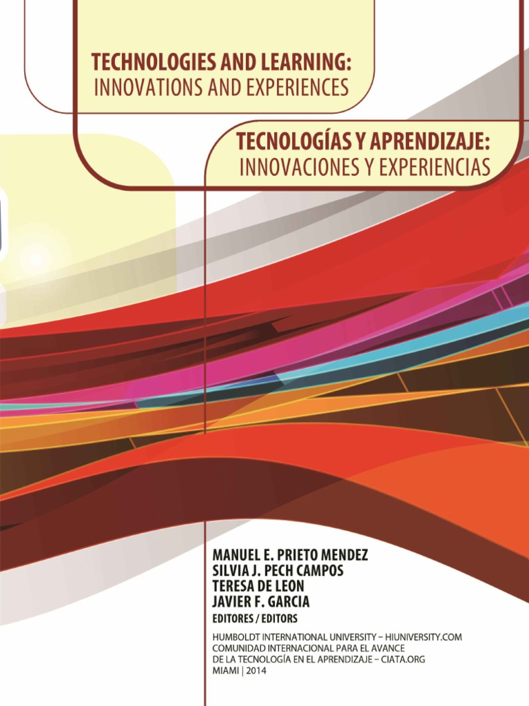 Technologies and Learning Innovations and Experiences / Tecnologías ...