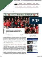 Kaiserslautern Subiu Da Segundona Para Desbancar Timaços e Ser Campeão Logo de Cara - Trivela