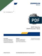 Diverter Valve Weiche ZWR 12-2010