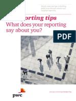 Pwc 12 Reporting Tips