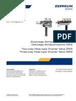Diverter Valve Weiche ZWS DWS 12-2010