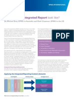 Integrated Reporting Format
