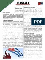 LA ESPADA N°6 CUBA
