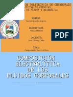 Composición Electrolítica