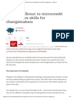 From Boy Scout to Microcredit Pioneer_ Five Skills for Changemakers - Virgin