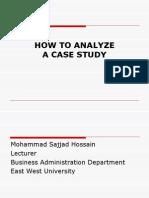Case Analysis Workshop