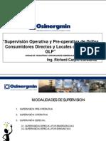 4. Supervision Operativa y Pre-operativa de Grifos, Consumidores Directos y Locales de Venta de GLP