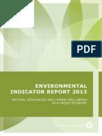 Environmental Indicator Report 2013 2