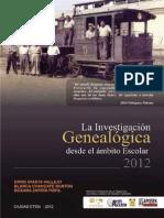 Investigacion Genealogica Desde Ambito Escolar 2012a