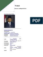 Kh. Abdurrahman Wahid