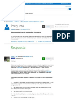 Soluciones a Aplicaciones Windows 8