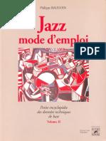Jazz Mode d'Emploi Vol 2 - Baudoin
