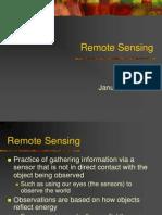 Lecture9 Remote Sensing