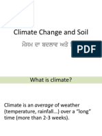 Climate Change and Soil