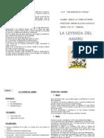 Diptico Leyenda Del Amaru