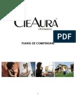 CieAura Compensation Plan - Romanian