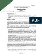Primer Examen 2014-1 INGECO