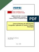 Guia de Sistemas de Informacion Geografica Aplicado Al Catastro Urbano Minicipal